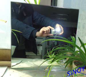 Double Coated Aluminium Coated Mirror Glass Waterproof with 3mm from China