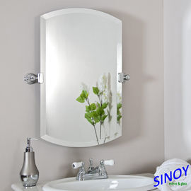 Unframed Bathroom Glass Mirror In Different Shapes And Sizes For Bathroom Applications from China