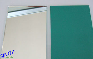 Eco Friendly Silver Coated Copper Free Mirror / Bathroom mirrors from China