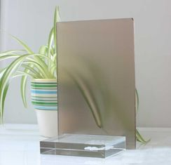 10mm 12mm Float Glass Colored Frosted Glass Frameless For Home Decoration from China