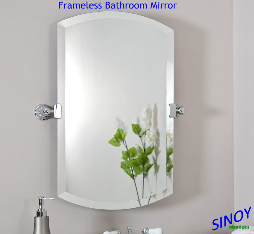 Waterproof unframed bathroom glass mirror in different for Different sized mirrors
