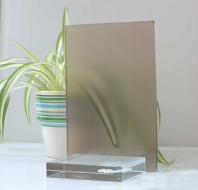 10mm 12mm Float Glass Colored Frosted Glass Frameless For Home Decoration